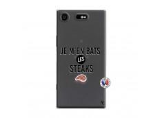 Coque Sony Xperia XZ1 Je M En Bas Les Steaks