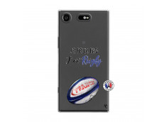 Coque Sony Xperia XZ1 Je Peux Pas J Ai Rugby