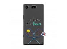 Coque Sony Xperia XZ1 Je Peux Pas J Ai Tennis