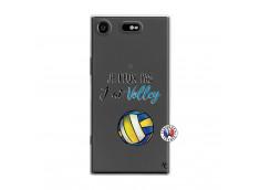 Coque Sony Xperia XZ1 Je Peux Pas J Ai Volley