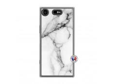 Coque Sony Xperia XZ1 White Marble Translu