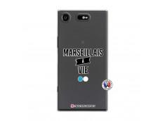 Coque Sony Xperia XZ1 Marseillais à Vie