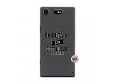 Coque Sony Xperia XZ1 Oh Putain C Est L Heure De L Apero