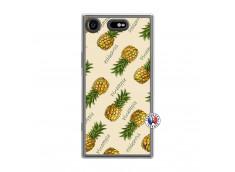 Coque Sony Xperia XZ1 Sorbet Ananas Translu