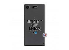 Coque Sony Xperia XZ1 Rien A Foot Allez Bruges