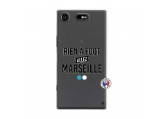 Coque Sony Xperia XZ1 Rien A Foot Allez Marseille