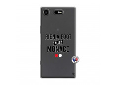 Coque Sony Xperia XZ1 Rien A Foot Allez Monaco