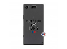 Coque Sony Xperia XZ1 Rien A Foot Allez Paris