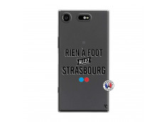 Coque Sony Xperia XZ1 Rien A Foot Allez Strasbourg