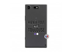 Coque Sony Xperia XZ1 Rien A Foot Allez Toulouse