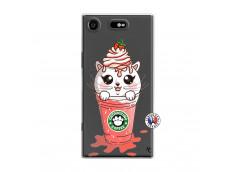 Coque Sony Xperia XZ1 Catpucino Ice Cream