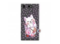 Coque Sony Xperia XZ1 Smoothie Cat