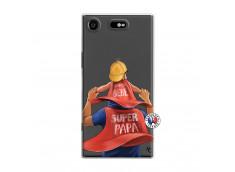 Coque Sony Xperia XZ1 Super Papa et Super Bébé