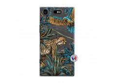 Coque Sony Xperia XZ1 Leopard Jungle