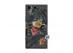 Coque Sony Xperia XZ1 Leopard Tree