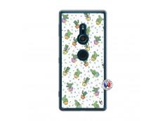 Coque Sony Xperia XZ2 Le Monde Entier est un Cactus Translu