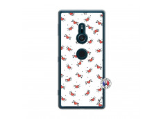 Coque Sony Xperia XZ2 Cartoon Heart Translu