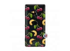 Coque Sony Xperia XZ2 Hey Cherry, j'ai la Banane