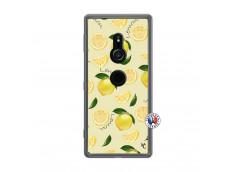 Coque Sony Xperia XZ2 Sorbet Citron Translu