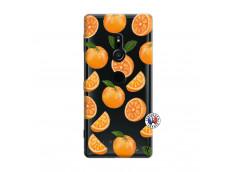 Coque Sony Xperia XZ2 Orange Gina