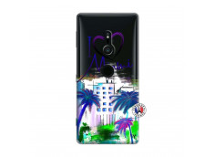 Coque Sony Xperia XZ2 I Love Miami