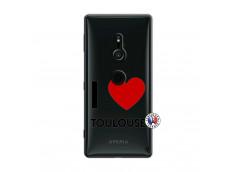Coque Sony Xperia XZ2 I Love Toulouse
