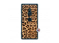 Coque Sony Xperia XZ2 Leopard Style Translu