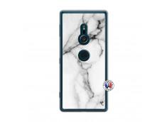 Coque Sony Xperia XZ2 White Marble Translu