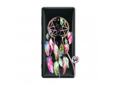Coque Sony Xperia XZ2 Pink Painted Dreamcatcher
