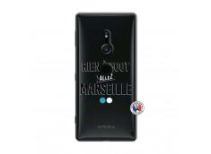 Coque Sony Xperia XZ2 Rien A Foot Allez Marseille