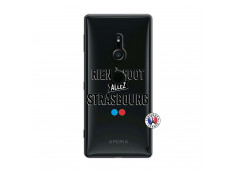 Coque Sony Xperia XZ2 Rien A Foot Allez Strasbourg