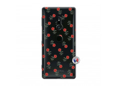 Coque Sony Xperia XZ2 Rose Pattern