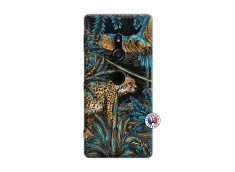 Coque Sony Xperia XZ2 Leopard Jungle