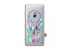 Coque Sony Xperia XZ3 Blue Painted Dreamcatcher