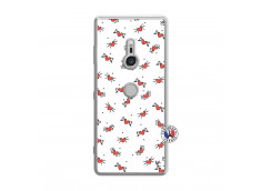 Coque Sony Xperia XZ3 Cartoon Heart Translu