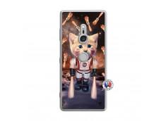 Coque Sony Xperia XZ3 Cat Nasa Translu