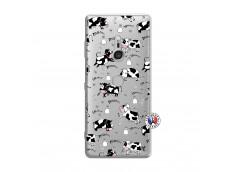 Coque Sony Xperia XZ3 Cow Pattern