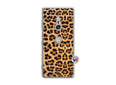 Coque Sony Xperia XZ3 Leopard Style Translu