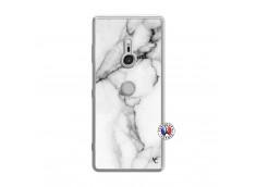 Coque Sony Xperia XZ3 White Marble Translu