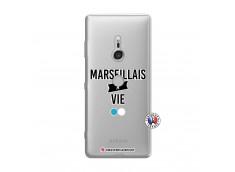 Coque Sony Xperia XZ3 Marseillais à Vie