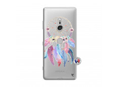 Coque Sony Xperia XZ3 Multicolor Watercolor Floral Dreamcatcher