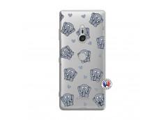 Coque Sony Xperia XZ3 Petits Elephants
