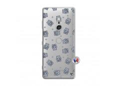 Coque Sony Xperia XZ3 Petits Hippos