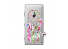 Coque Sony Xperia XZ3 Pink Painted Dreamcatcher