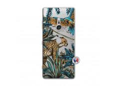 Coque Sony Xperia XZ3 Leopard Jungle