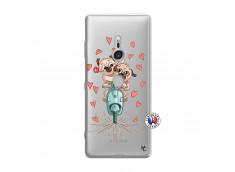 Coque Sony Xperia XZ3 Puppies Love