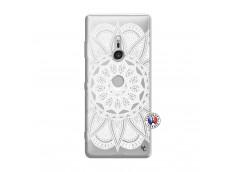 Coque Sony Xperia XZ3 White Mandala
