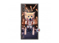 Coque Sony Xperia XZ Cat Nasa Translu