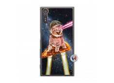 Coque Sony Xperia XZ Cat Pizza Translu