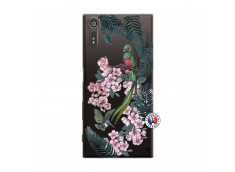 Coque Sony Xperia XZ Flower Birds